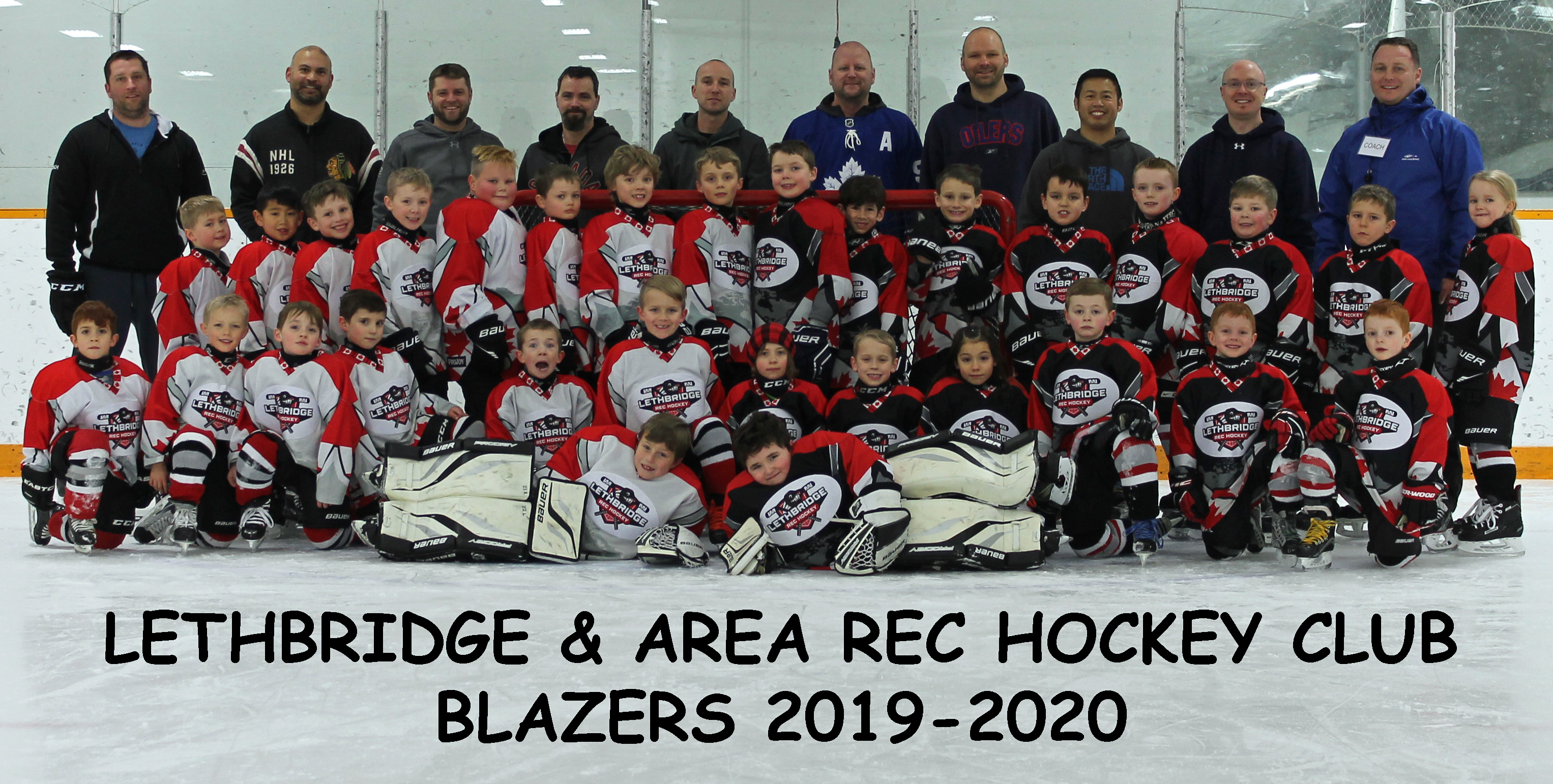 Blazers Group Photo 2019-20