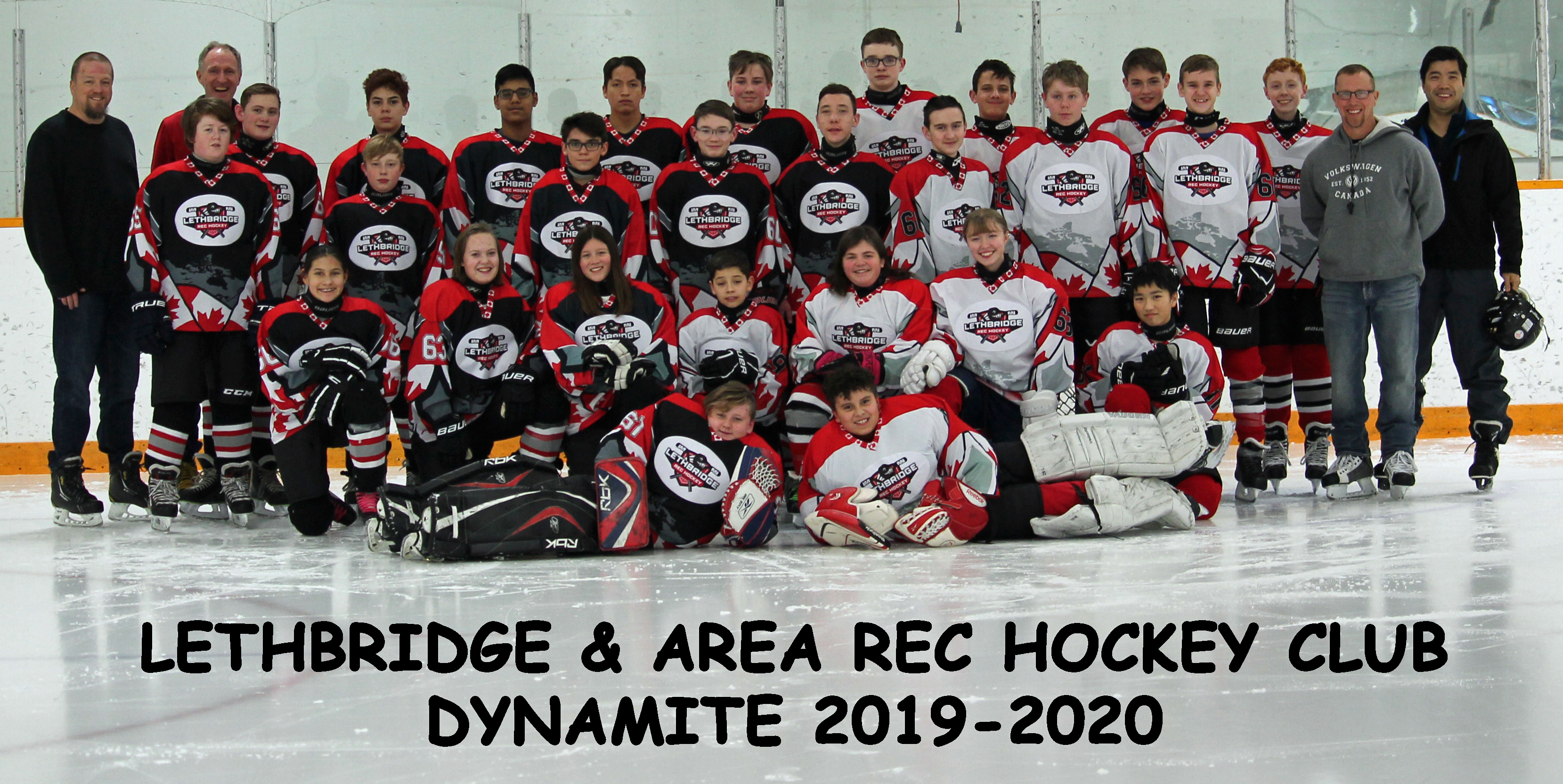 Dynamite Group Photo 2019-20